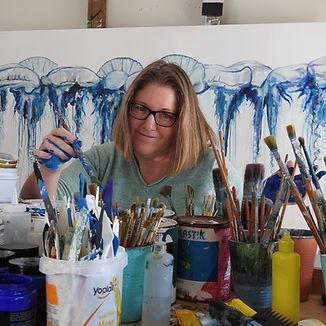 Australian Artist Naomi Veitch in studio_painting.jpg