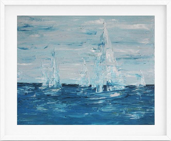 Sailing Boat - limited edition print 1/100