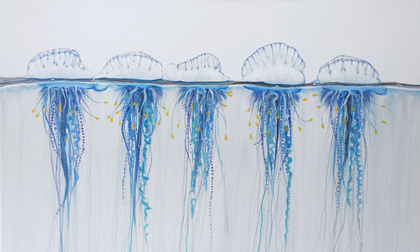 bluebottle painting sold artwork