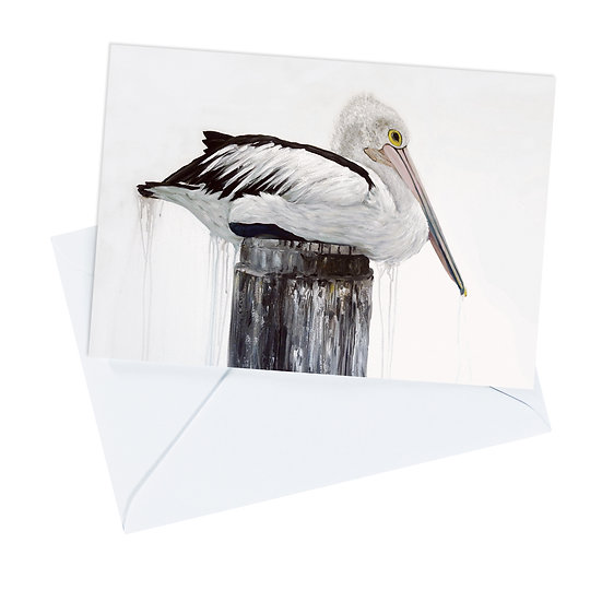 Australian Pelican Greeting Card