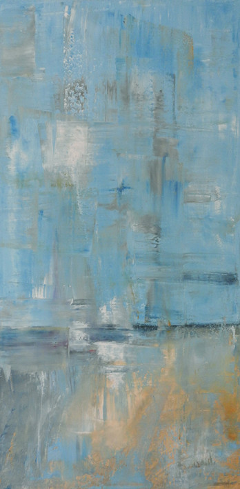 Coastal Abstract painting