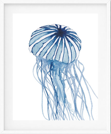 Jellyfish - limited edition print 13/100
