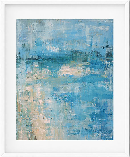 Coastal Abstract - limited edition print 1/100