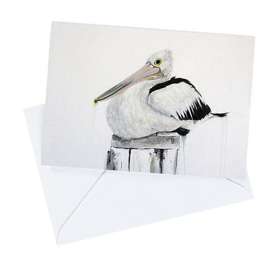 Australian Pelican Greeting Card