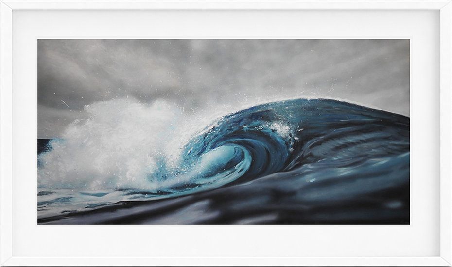 Wave - limited edition print 2/100