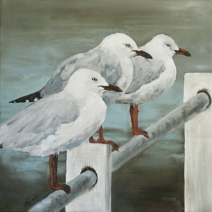 Seagull painting - sold