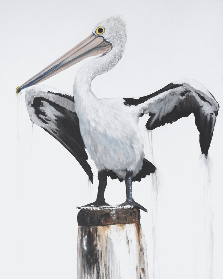 pelican painting sold