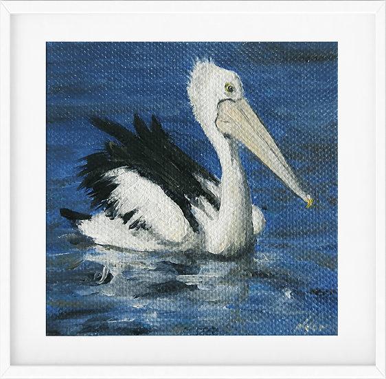 Mini Pelican- limited edition print 1/100