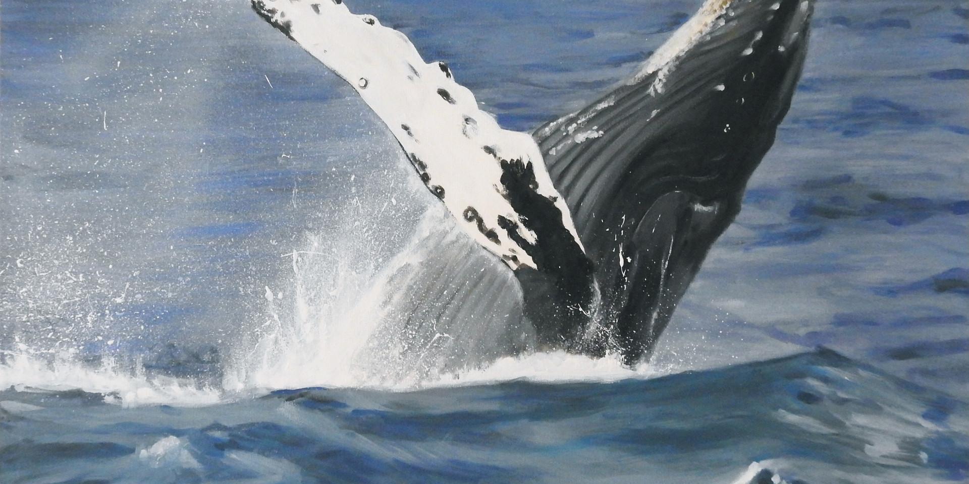 whale painting, humpack whale art.jpg