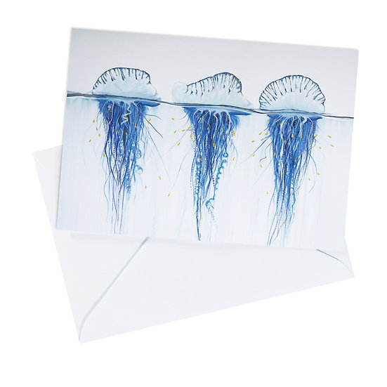 Bluebottle Greeting Card