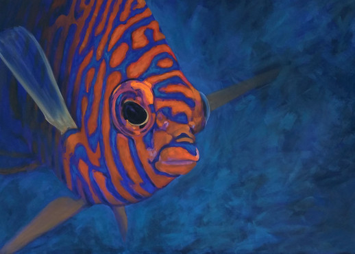 Fish painting - sold