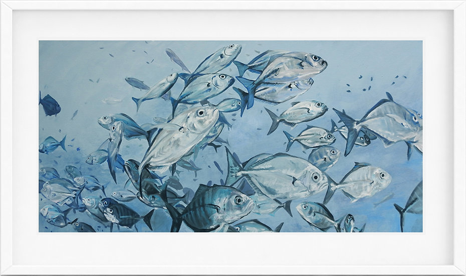 School of fish - limited edition print 2/100