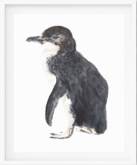 Penguin - limited edition print 1/100