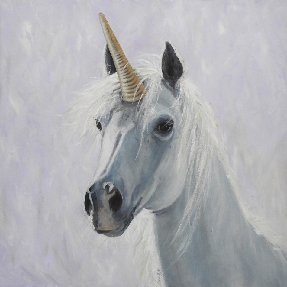 unicorn Painting | animal art | Naomi Veitch