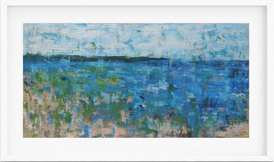 Coastal Abstract - limited edition print 3/100