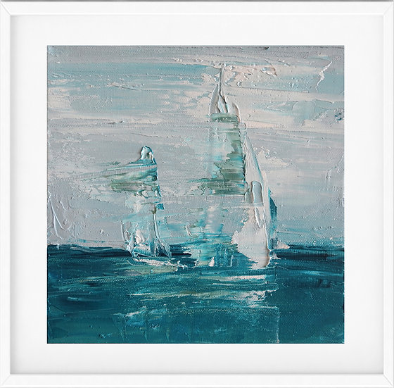 Sailing Boat - limited edition print 1/100