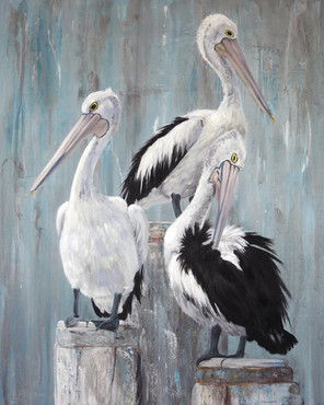 pelican painting commission