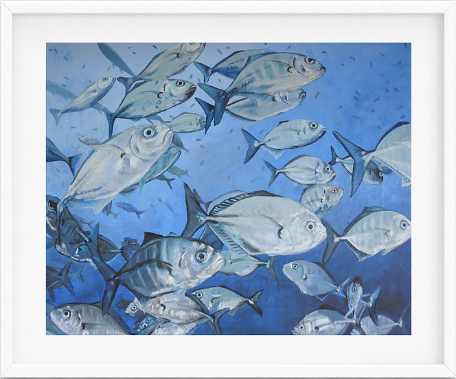 Fish - limited edition print 3/100