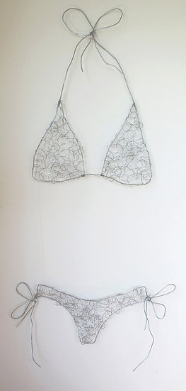 Bikini Wire Sculpture