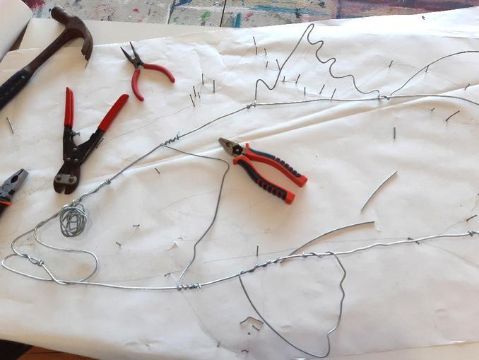 Wire sculpture being made.jpg