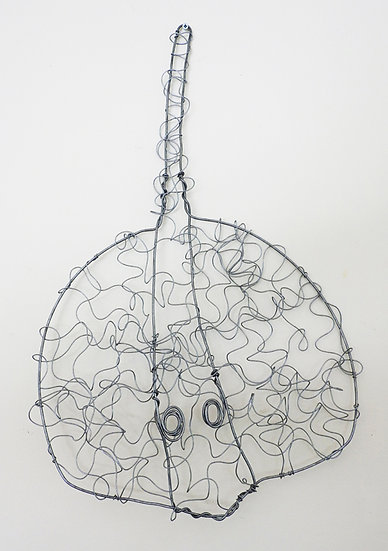Sting Ray Wire Sculpture