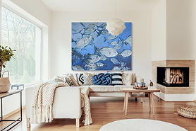 Large fish painting in room.jpg