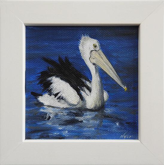 Australian Pelican Painting - Mini 1