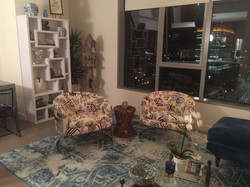 chairs in their home