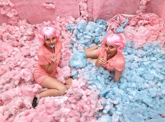 The Cotton Candy Room