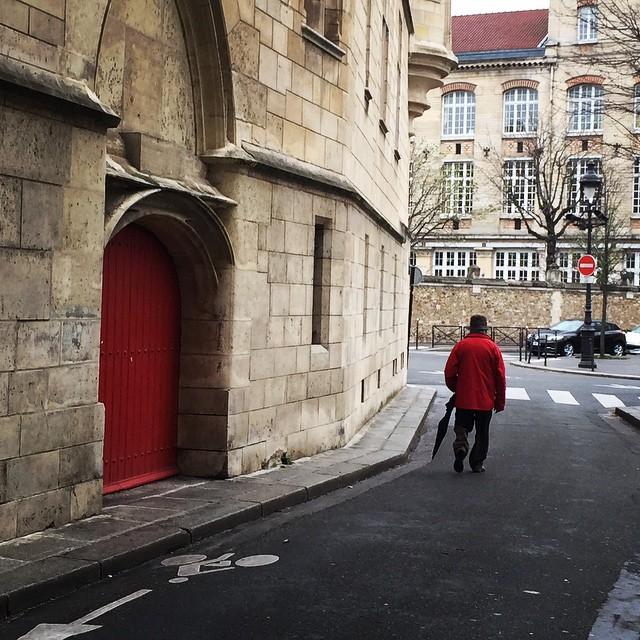 red coat red door paris