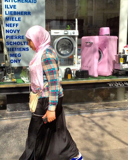 hijab and washer