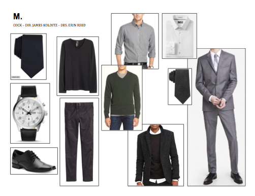 M: Wardrobe