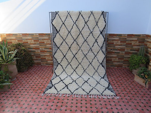 Vintage Beni Ourain Rug MRM03 (made in Marmoucha)