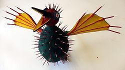Puffer Bird