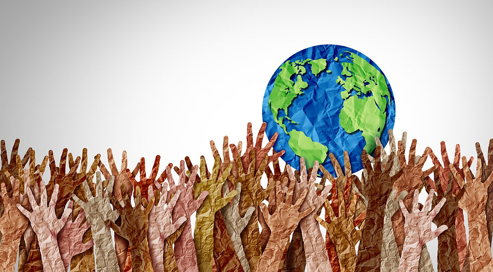 World day as diverse cultures and multiculturalism society and international tolerance cel