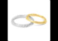 Orion Joel Custom Jewellery - Rose gold gents finger print wedding ring