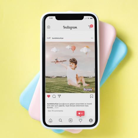Bumble Bebek Bezi Sosyal Medya