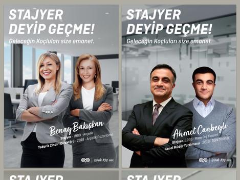 """Koç Holding """"Stajyer Deyip Geçme!"""""""