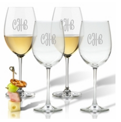 Carved Solutions Wine Glass