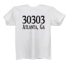 Zip Code T-shirt