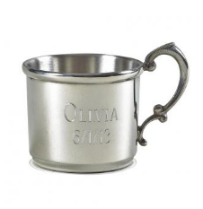 Creative Gifts Pewter Baby Cup