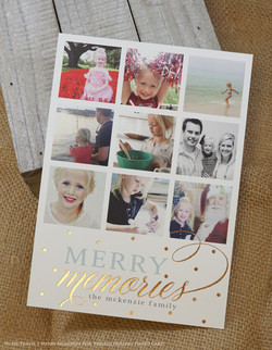 PicMe Holiday Photo Foil