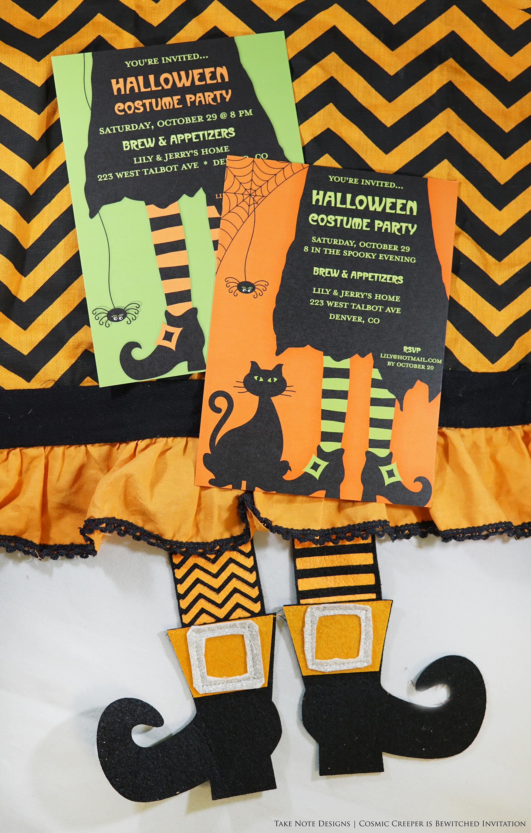 Printswell Halloween Invite