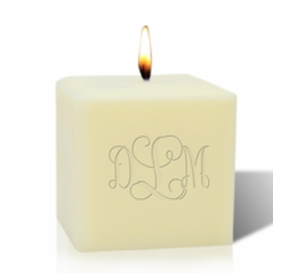 Carved Solutions Candle