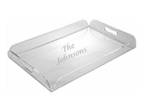 Carved Solutions Acylic Tray