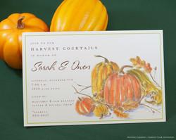 Inviting Co Harvest Cocktails Invite