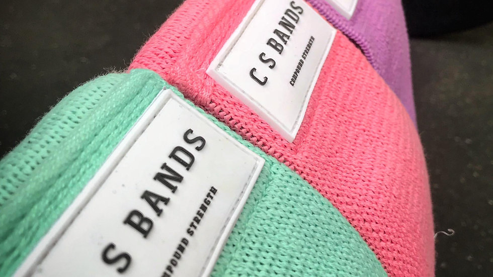 Booty Bands - GREEN, PINK, PURPLE