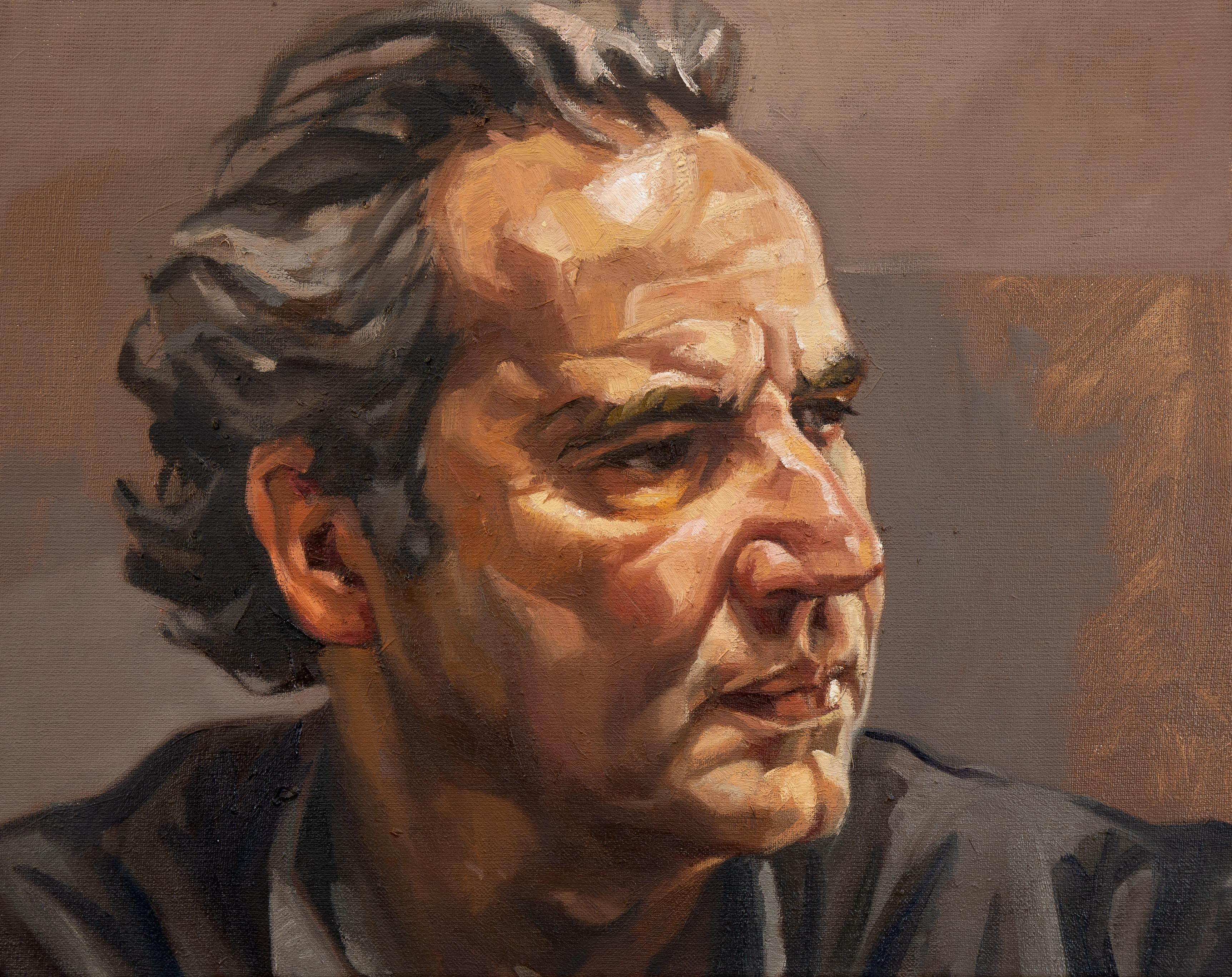 Zelfportret, 50x60cm, 2020