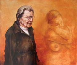 Resignation in Silence 2. 70 60 cm. 2015