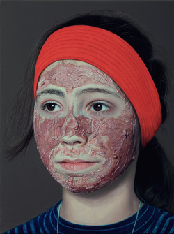 cranberry mask